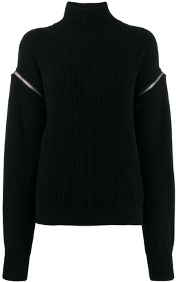 MSGM Turtleneck Knitted Sweater