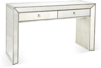 """One Kings Lane Eliza 56"""" Mirrored Console - Silver"""