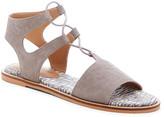 Lucky Brand Women's Sandals TITANIUM - Titanium Feray Suede Sandal - Women