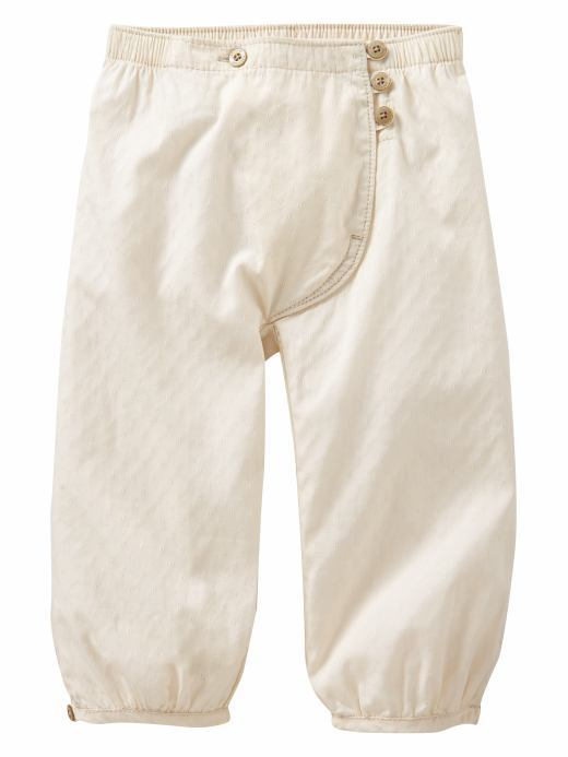 Gap Pointelle button pants