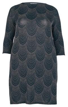 Dorothy Perkins Womens **Billie & Blossom Curve Black Deco Shift Dress, Black