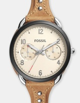 Fossil Tailor Brown Analogue Watch