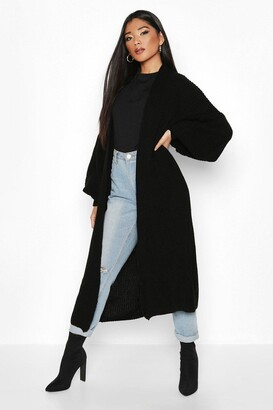 boohoo Oversized Balloon Sleeve Cardigan
