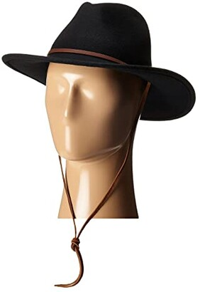 Brixton Field Hat (Black) Traditional Hats
