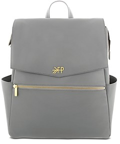Freshly Picked Faux-Leather Diaper Bag