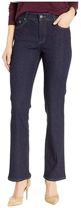 Lauren Ralph Lauren Premier Straight Jeans (Dark Rinse Wash) Women's Jeans