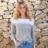 The White Company Colour Block Breton Stripe T-Shirt