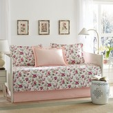 Laura Ashley Dorthea Pink 5 Piece Daybed Set - Pink (Daybed)