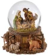 Fontanini 5.75-Inch Wind-Up Musical Holy Family Glitterdome Figurine
