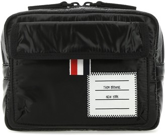 Thom Browne Patch Detailed Pouch Bag