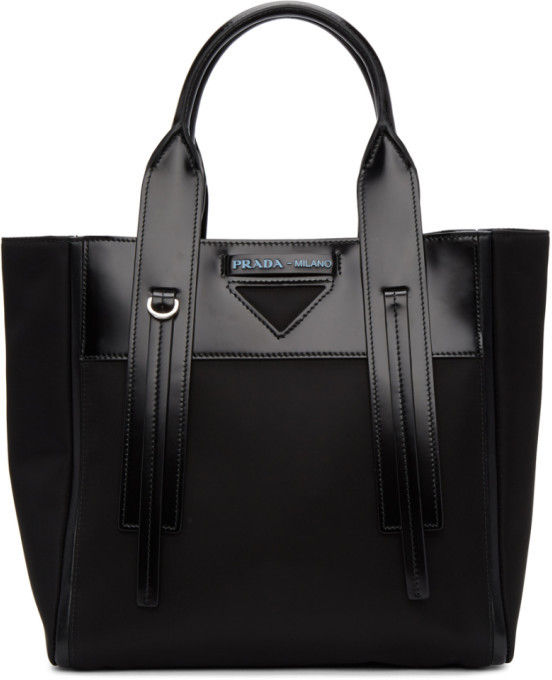 c7d2ff684d62 Prada Black Tote Bags - ShopStyle