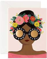 Rifle Paper Co. Flower Crown Bday Card