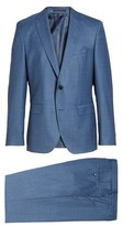 BOSS Men's Johnstons/lenon Classic Fit Solid Wool Suit