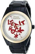 Vivienne Westwood Women's VV072GDBK St. Paul's Analog Display Swiss Quartz Black Watch