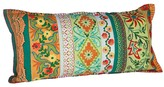 Karma Living Tropical Lace Cushion - Orange