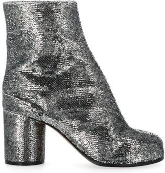 Maison Margiela Tabi Sequin Ankle Boots
