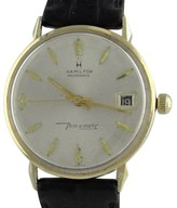 Hamilton Masterpiece 14K Yellow Gold Thin-o-matic Henry H. Reichhold Wrist Watch