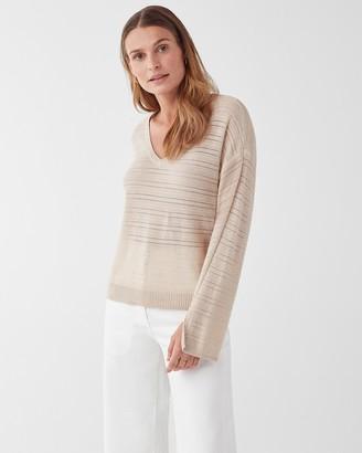 Splendid Hermosa Shadow Stripe Pullover