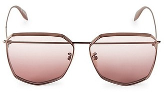 Alexander McQueen 61MM Brow Bar Sunglasses