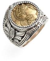 Konstantino Women's 'Athena' Coin Ring