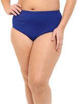 Lauren Ralph Lauren Plus Size Beach Club Solids Solid High Waist Hipster Bottoms