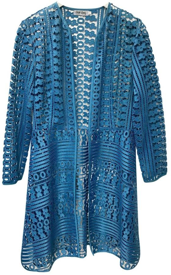 Charo Ruiz Ibiza Blue Polyester Jackets