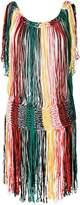 Sonia Rykiel fringe knit dress