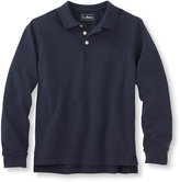 L.L. Bean Kids' Double L Polos, Long-Sleeve