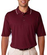 8406 UltraClub Unisex Cool & Dry Sport Two-Tone Polo Shirt 2XL