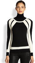 Milly High-Contrast Sweater