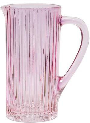 Luisa Beccaria Iridescent Glass Jug - Pink