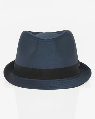 Le Château Shiny Twill Fedora Hat