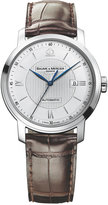 Baume & Mercier Men's Swiss Automatic Classima Dark Brown Leather Strap Watch 42mm M0A08731