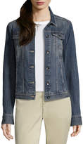 Liz Claiborne Denim Jacket-Tall