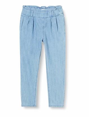 Name It Girl's Nmfbalikka DNM 1346 Hw Mom Pant Trouser