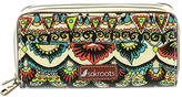 Sakroots The Artist Circle Double Zip Wallet