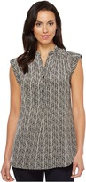 Pendleton Savanna Herringbone Tunic Women's Blouse