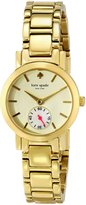 Kate Spade Women's 1YRU0482 Gramercy Mini tone Watch
