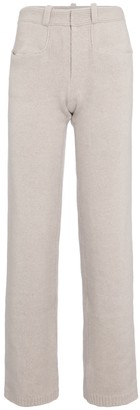 Deveaux Pearl wool and cashmere pants