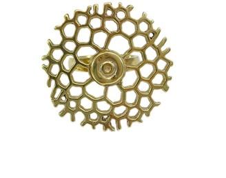 Slate & Salt Honeycomb Bombshell Ring