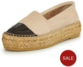 Kurt Geiger Mellow Leather Espadrille