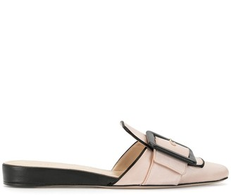 Ports 1961 Buckled 20mm Wedge Mules