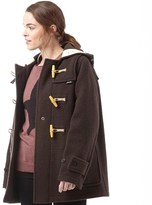 Gloverall Womens Mid Monty Coat Earth