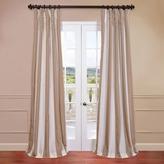 EFF Blackout Faux Silk Taffeta Stripe Window Curtain