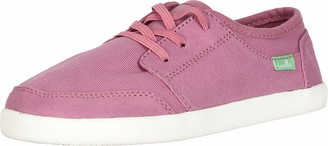 Sanuk Lil Vagabond Lace Sneaker (Little Kid/Big Kid) Heather Rose 1 Little Kid M
