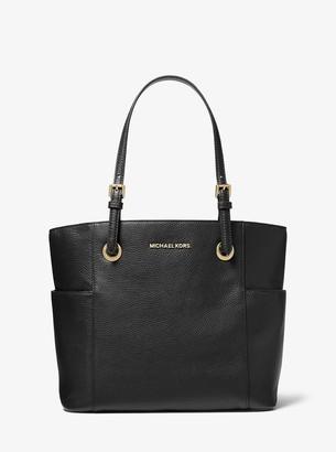 MICHAEL Michael Kors Jet Set Medium Pebbled Leather Tote Bag