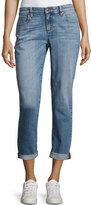 Eileen Fisher Stretch Boyfriend Jeans, Sky Blue, Petite