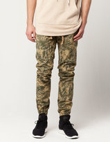 UNCLE RALPH Leaf Print Mens Jogger Pants