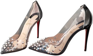 Christian Louboutin Degrastrass Black Patent leather Heels