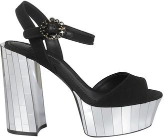 Dolce & Gabbana Bellucci Buckled Sandals